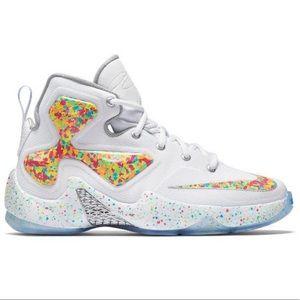 lebron james fruity pebbles sneakers